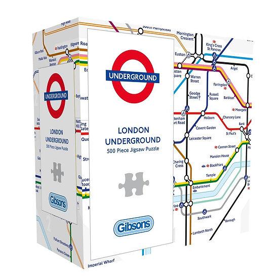 Gibson's - TFL London Underground Gift Puzzle (500)