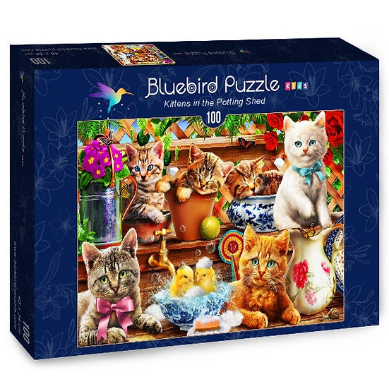Bluebird - Kittens in the Potting Shed (100)