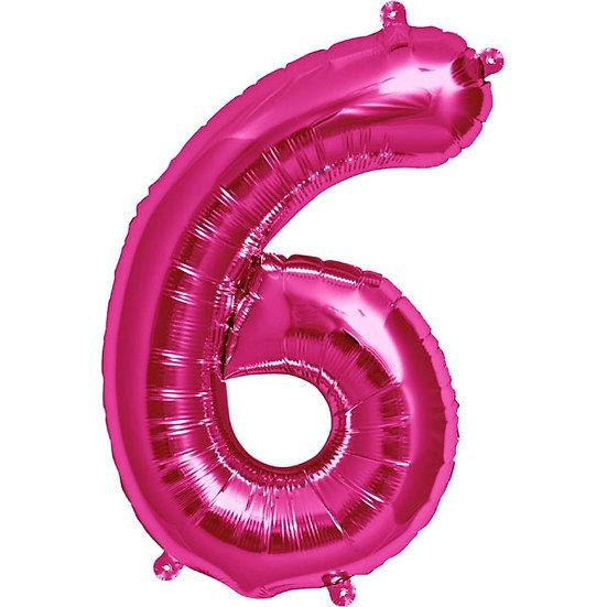 "34"" Number 6 - Pink"