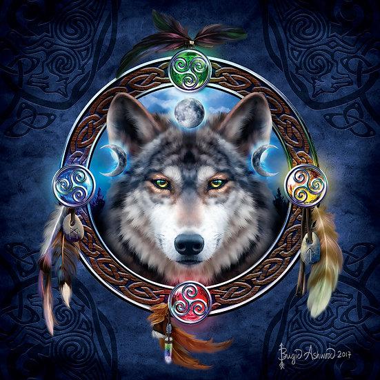 Sunsout - Celtic Wolf Guide (1000)
