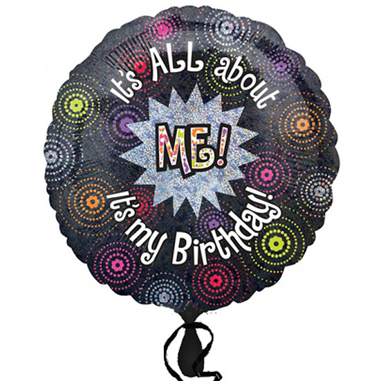 """It's all about ME 18"""" Foil Balloon"""