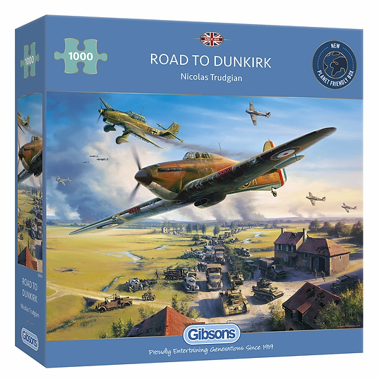 Road to Dunkirk (1000)