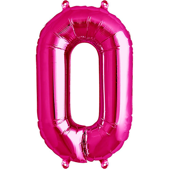 "34"" Number 0 - Pink"
