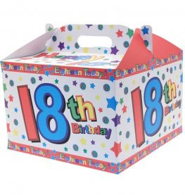 18 Today Birthday Balloon Box