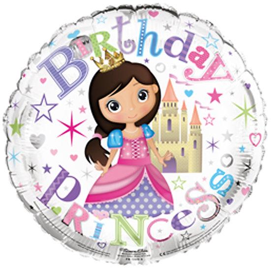 "Birthday Princess 18"" Foil"