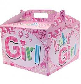 Baby Girl Balloon Box