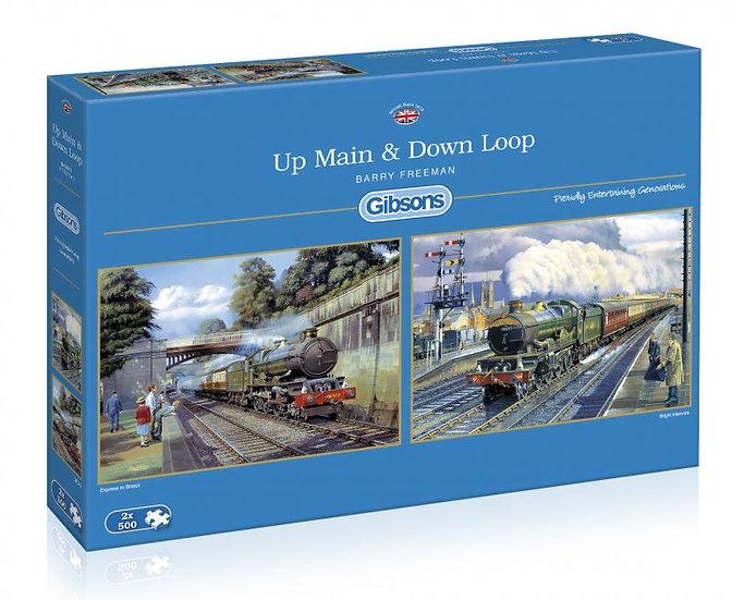 Gibson's - Up Main & Down Loop (2 x 500)