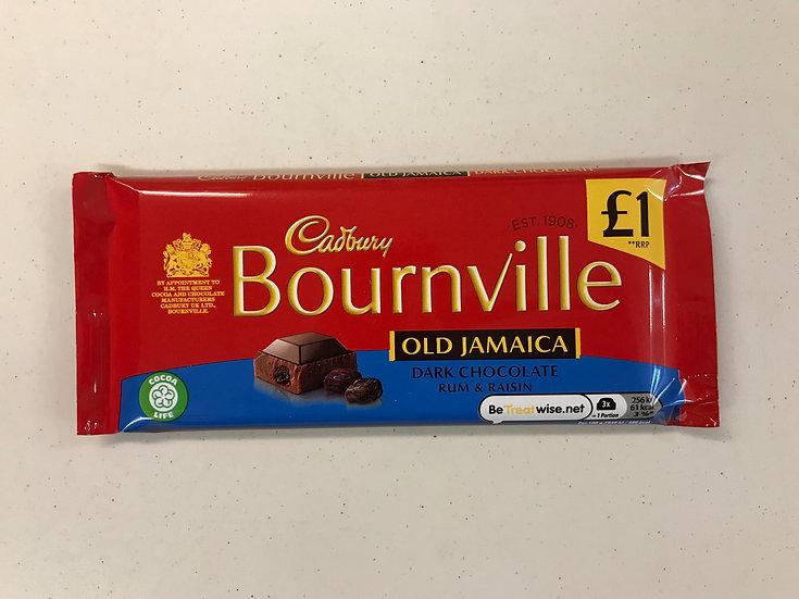 Bourneville Old Jamaica - Dark Chocolate