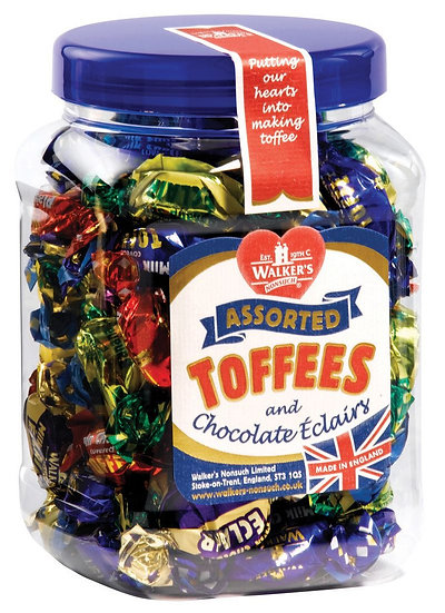 Walkers Assorted Toffees Gift Tub - 450g