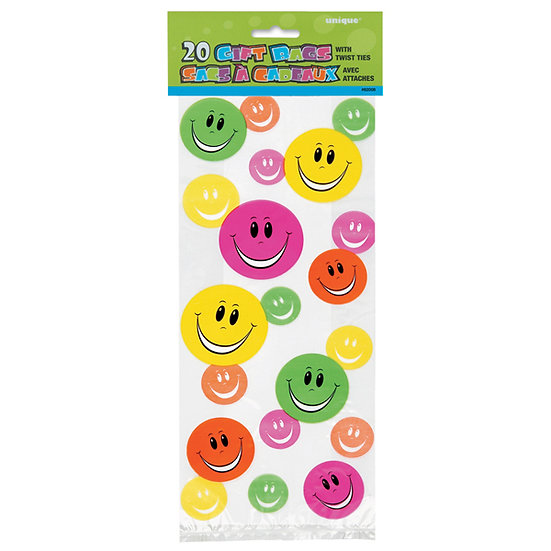 Smiley Face Party Bag