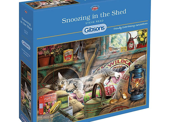 Gibson's - Snoozing in the Shed (1000)