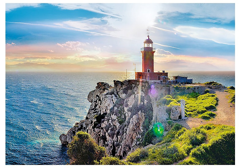 Trefl - The Melagavi lighthouse, Greece (1000)