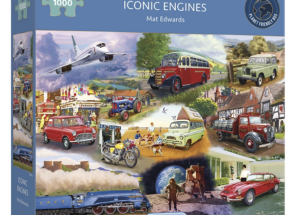 Gibson's - Iconic Engines (1000)