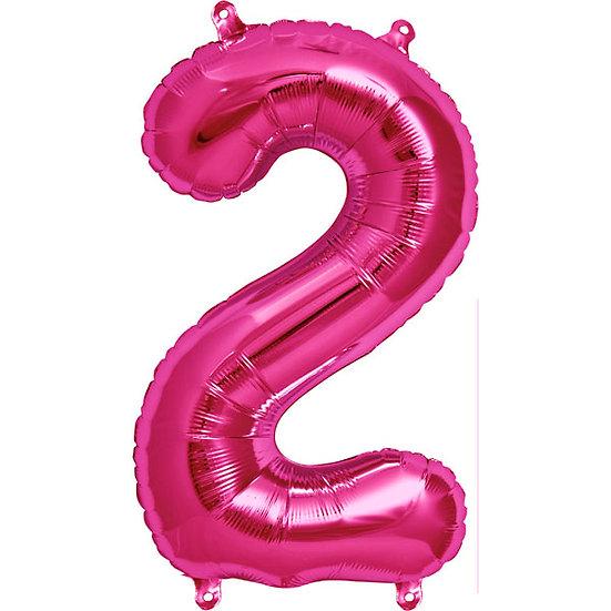 "34"" Number 2 - Pink"