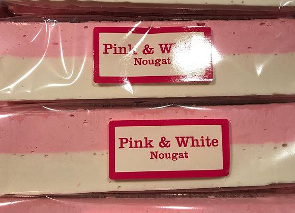 Pink & White Nougat