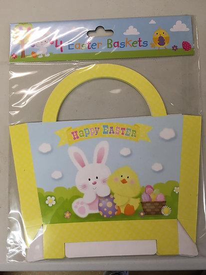 4 Easter Baskets