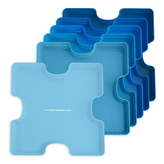 Puzzle Sorting Trays - 6 Pack