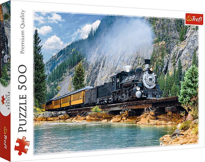 Trefl - Mountain Train (500)