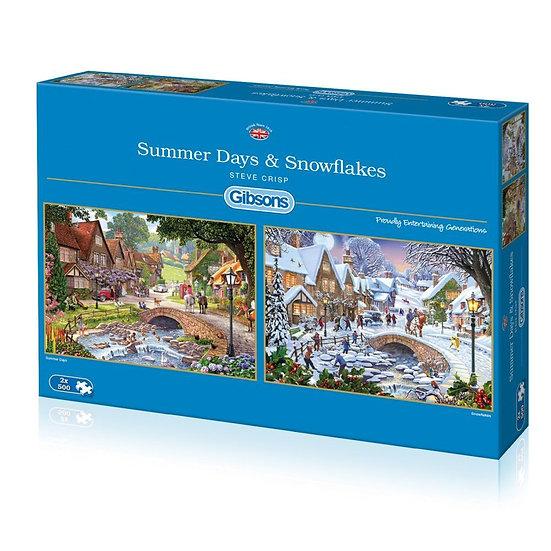 Summer Days & Snow Flakes (2 x 500)