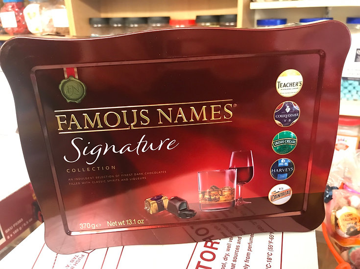 Famous Names Signature Collection - 370g