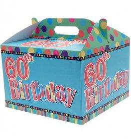 Happy 60th Balloon Box