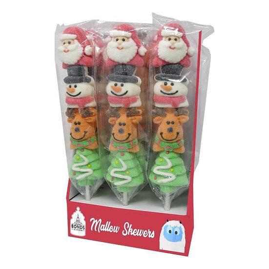 Christmas Mallow Skewers