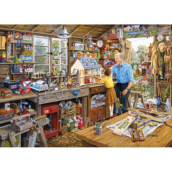 Gibson's Grandad's Workshop (500XL)