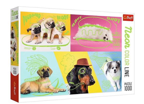 Trefl - Far Out Dogs (1000)