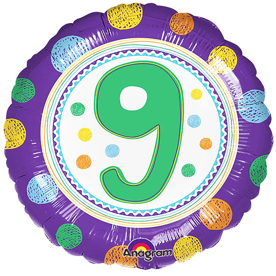 """Number 9 - Spotty 18"""""""