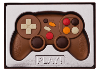 Solid Chocolate Game Controller