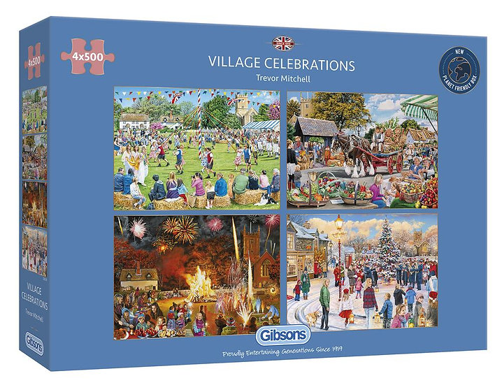Gibson's - Village Celebrations (4 x 500)