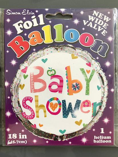 "Baby Shower Balloon 18"""