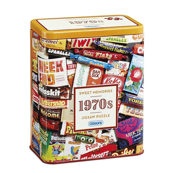 1970's Sweet Memories Gift Tin