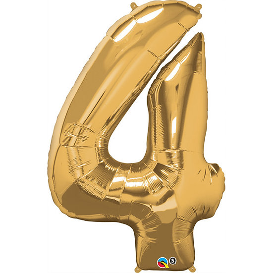 """34"""" Number 4 - Rose Gold"""