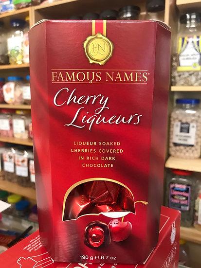 Famous Names Cherry Liquers - 190g