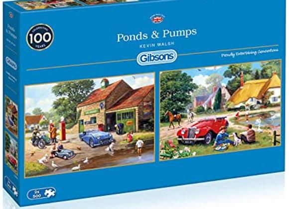 Gibson's - Ponds & Pumps (2 x 500)