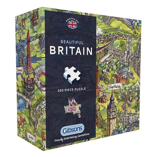 Gibson's - Beautiful Britain Gift Box (500)