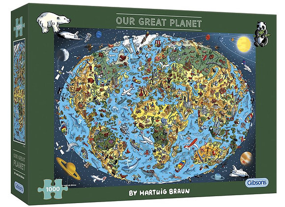 Gibson's - Our Great Planet (1000)