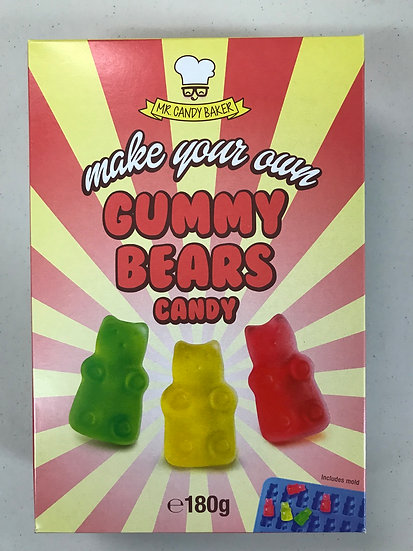 Make your own Gummy Bears Kit