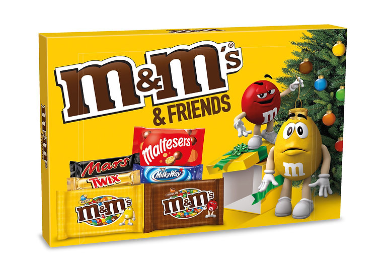 M & M & Friends Selection Pack 139g