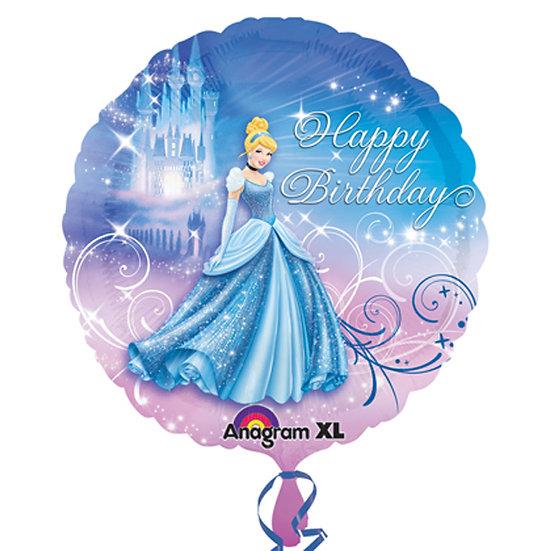 "Cinderella Happy Birthday - 18"" Foil"