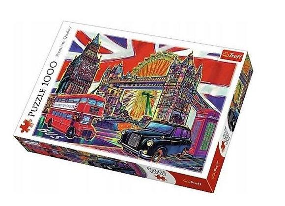 Trefl - Colours of London (1000)