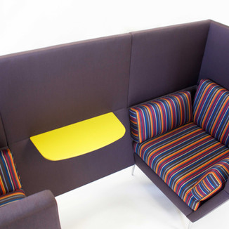 Single seat March Quiet booth by Ryan Furniture.