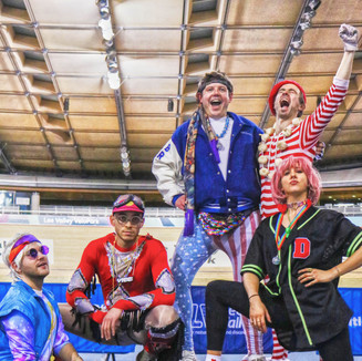 Great to capture the House of Dinosaur guys at the Disco Dodgeball event put on by the amazing DoEVENTSwell team.