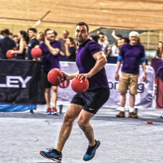 Fantastic to be involved with this event - The team at DoEVENTSwell put on a night of 'Disco Dodgeball' at the Olympic Velodrome and asked me to take shots of the action!