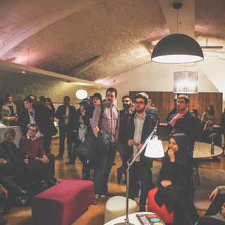 Manchester Pop-up showroom party shoot at Ferrious, for New Design Group.