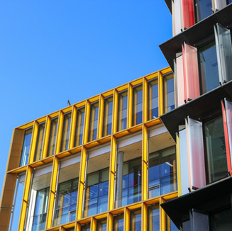 This is New Ludgate, a striking piece of Architecture by Fletcher Priest Architects and Sauerbruch Hutton.