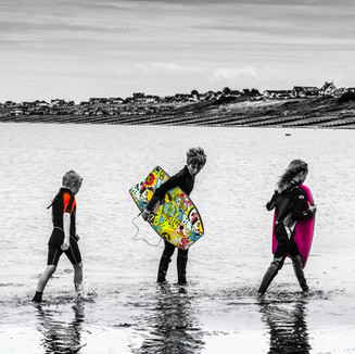 Shoot and edit for a day at the beach! Lovely to capture these little thrill seekers!