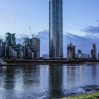 St Geroge Wharf Tower, London.