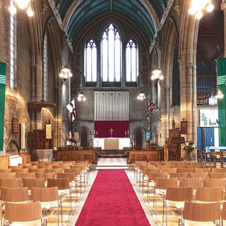 Beautiful location to shoot here for Trinity Church Furniture. On site at St Barnabas Church, Mitcham.